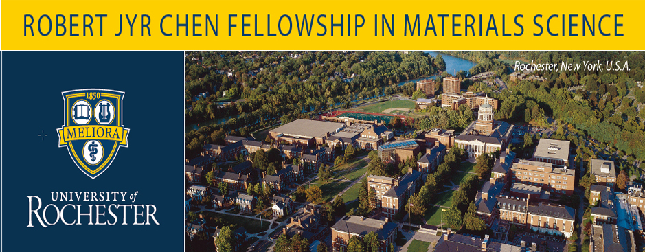 Robert Jyr Chen Fellowship in Materials Science